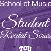 Student Recital Series:  Bradley Baird, percussion