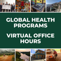 Global Health Programs Virtual Office Hours