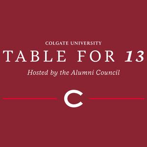 Alumni Council Table for 13: Colgate DNA