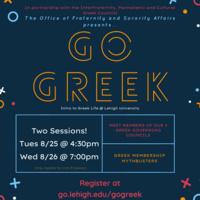 Go Greek Event | Fraternity & Sorority Affairs