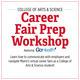 College of Arts & Science: Career Fair Prep Workshop, Featuring GoHealth