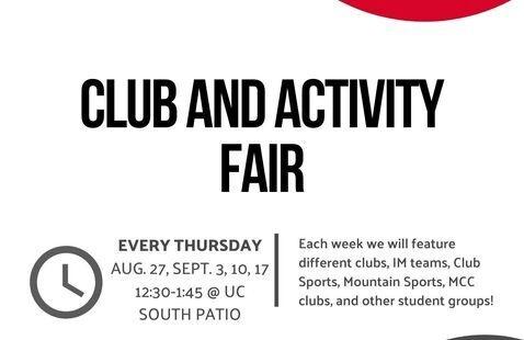 Club & Activity Fair