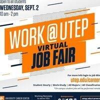 WORK @ UTEP JOB FAIR