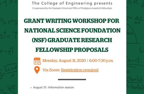 NSF GRFP Grant Writing Workshop