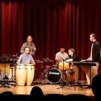 Percussion Ensemble: Bach, Singleton, Volans