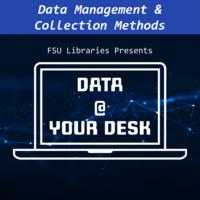 Data @ Your Desk Virtual Workshop: Survey Design
