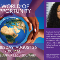 A World of Opportunity: Featuring Alumna Chaniece Mulligan