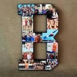 Take and Make letter photos
