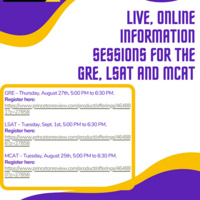 GRE Information Session