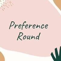 Preference Round Check Ou