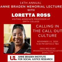 Loretta Ross Calling In the Call Out Culture