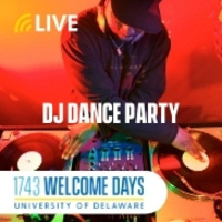 DJ Dance Party Live Event Part of 1743 Welcome Days