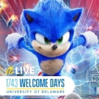 Lights Camera Action Sonic The Hedgehog Live On Campus Event Part of 1743 Welcome Days