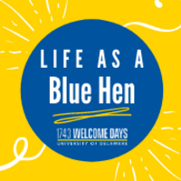 Claudia's Life as a Blue Hen: Getting Involved by Being Yourself
