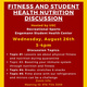 Recreational Sports Fitness and Student Health Nutrition Discussion