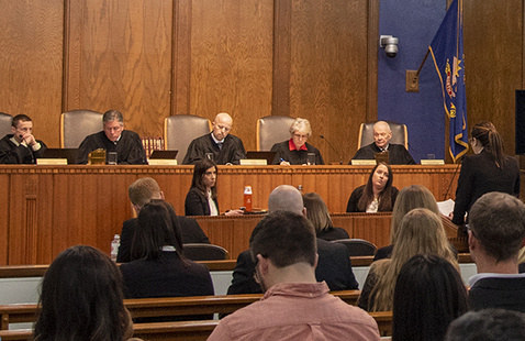 North Dakota Supreme Court Visit