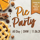 Pie Party @ DHW