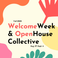 Save the Date: Welcome Week & Open House Collective