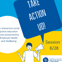 Take Action UD: Session 1 Social Injustice and Personal Wellbeing