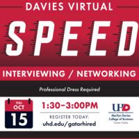 Davies Virtual Speed Interview/Networking
