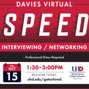 Davies Virtual Speed Interview/Networking