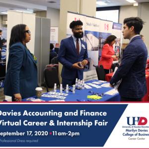 Davies Accounting and Finance Virtual Career & Internship Fair