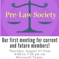 Pre-Law Society Meeting