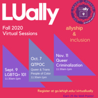LUally Open Sessions | Pride Center