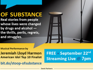 Of Substance - A Virtual Stoop Storytelling Event with Special Musical Performance