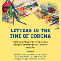 Letters in the Time of Coronavirus