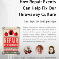 Climate Prep Week: How Repair Events Can Transform Our Throwaway Culture