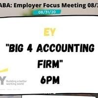 Employer Focus Meeting: EY