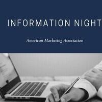 American Marketing Association Info Night