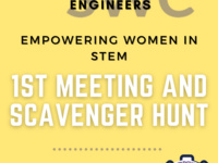 Society of Women Engineers Scavenger Hunt