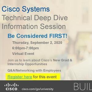 Cisco Systems Technical Internships and Full-time Jobs