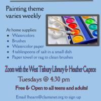 Virtual Watercolor Landscape Class