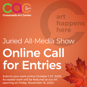 Call for Entries - November 2020 Juried All-Media Show