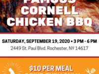 Famous Cornell Chicken BBQ