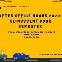 After Office Hours 2020: ReinVVVent Your Semester