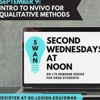 Intro to NVIVO for qualitative methods poster
