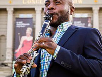 Anthony McGill plays clarinet
