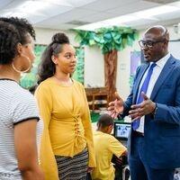 Educational Leadership - Principal with Teachers