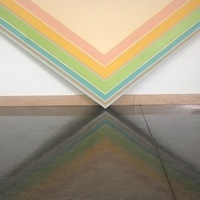 Robert Cardwell, Bumppo, 1975, oil on canvas, University of Dallas Permanent Collection
