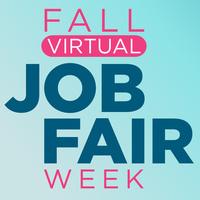 Fall Virtual Job Fair Week