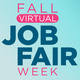 Fall Virtual Job Fair Week