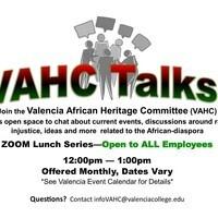 VAHC Talks! Lunch Series
