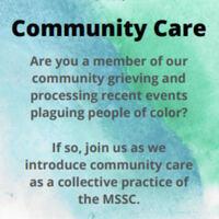 MSSC Community Care Event