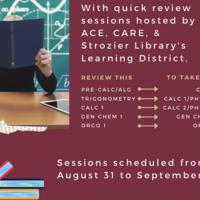 STEMulate Your Studies Review: Pre-Calculus/Algebra