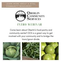 poster for OCS webinar