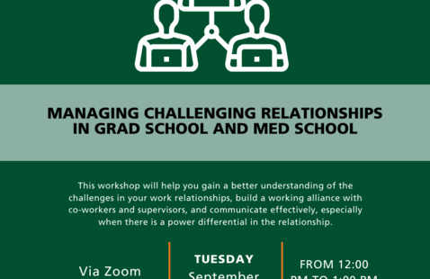 Managing Challenging Relationships in Grad School and Med School